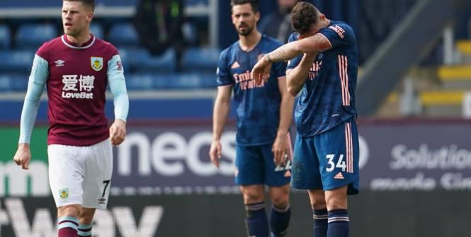 Foot - ANG - Premier League: Arsenal scotché à Burnley et loin de l'Europe
