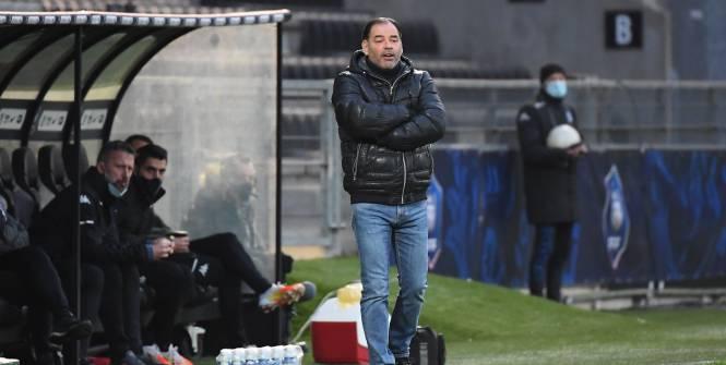 Foot - L1 - Angers - Pour Stéphane Moulin, «des ressorts paraissent distendus» dans l'effectif d'Angers