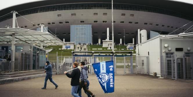 Foot - RUS - Le Zénith Saint-Pétersbourg écrase le Lokomotiv Moscou et est sacré champion de Russie